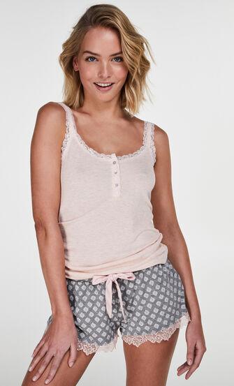 Jersey shorts, Grå