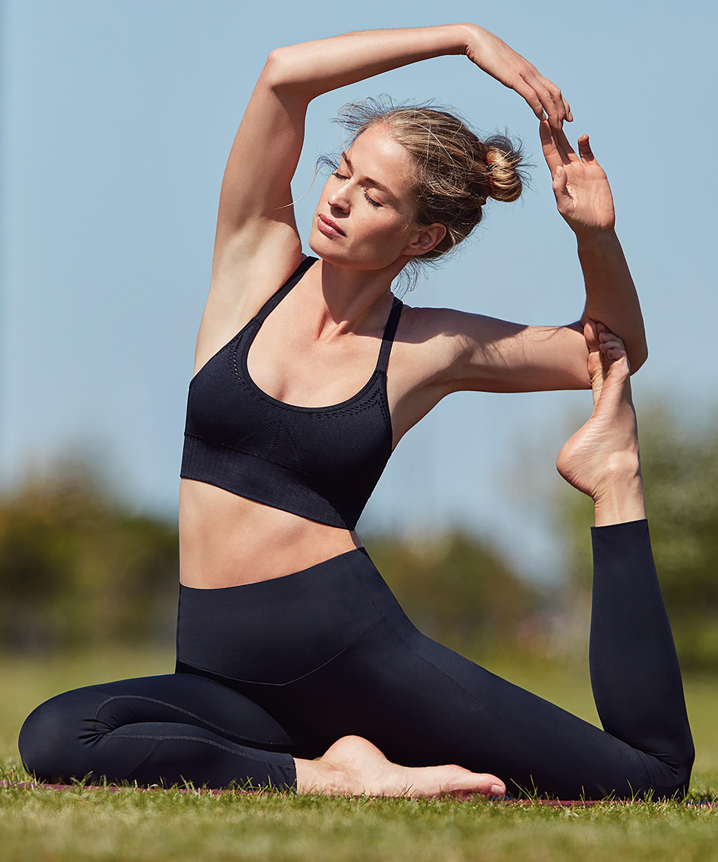 HKMX Gør mig Zen med leggings med høj talje , sort, main