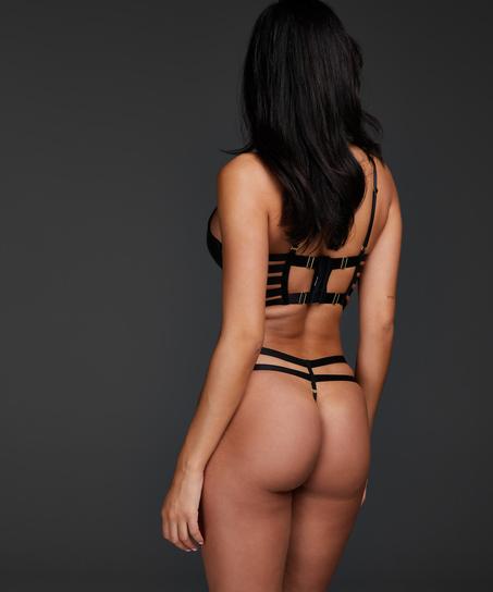 Formstøbt pushup-bøjle-bh Vicky, sort