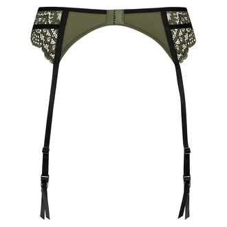 Xiomara strømpeholder, grøn