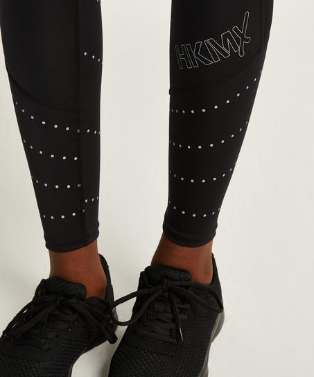 HKMX Run Baby Run-leggings med normal talje, sort