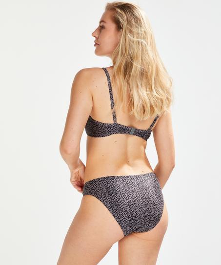 Formstøbt bøjle-bikinitop Spot Game, pink
