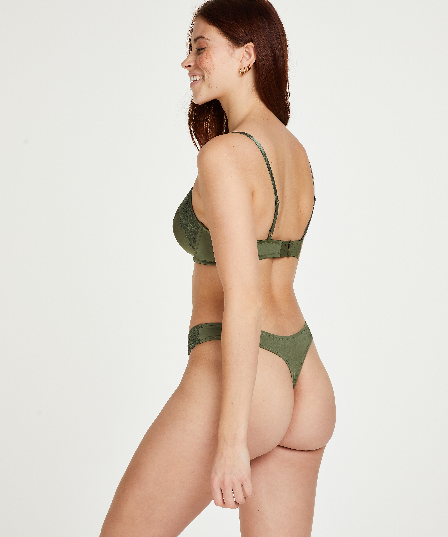 Formstøbt bøjle-bh Gina, grøn, main