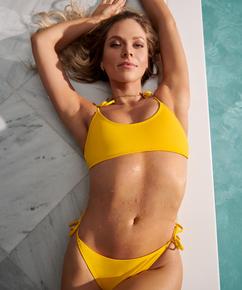 Bikini-croptop Napa, gul