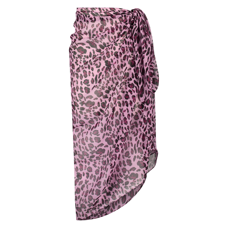 Pareo dyreprint, pink, main