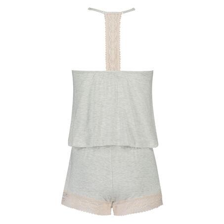 Pyjamassæt med shorts, Grå