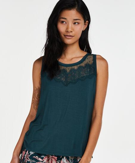 Jersey singlet, grøn