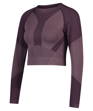 HKMX The Motion Crop Top, lilla
