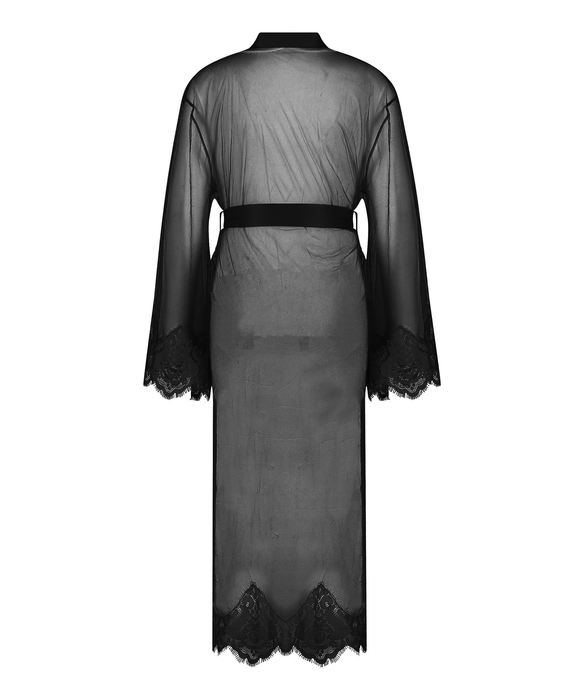 Kimono Long Cravache, sort, main