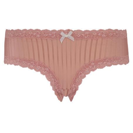V-shape Mesh brasiliansk trusse, pink