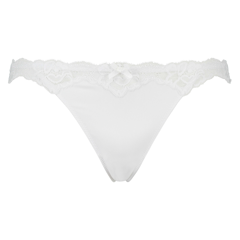 Secret Lace g-streng, hvid, main
