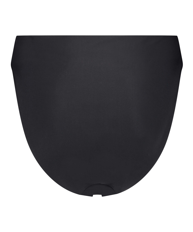 Højt udskåret bikinitrusse Black HKM x NA-KD, sort, main