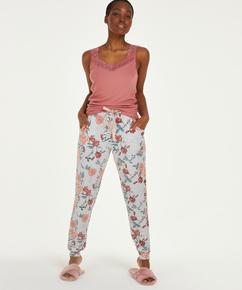 Jersey pyjamasbukser, Grå
