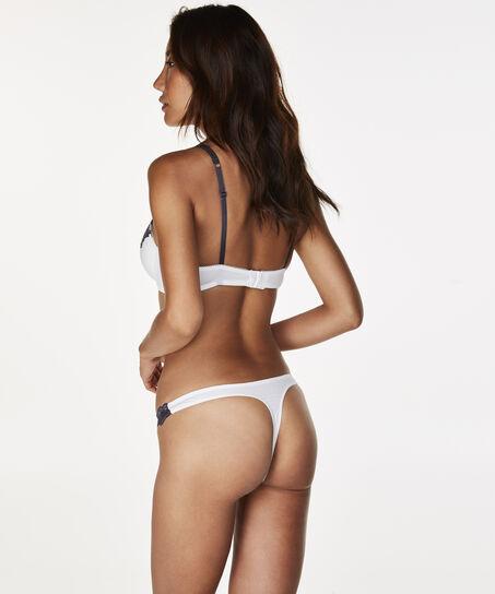 Secret Lace g-streng, hvid