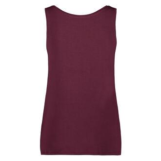 Lace shorts, rød