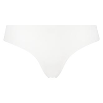 Invisible g-streng af bomuld, hvid