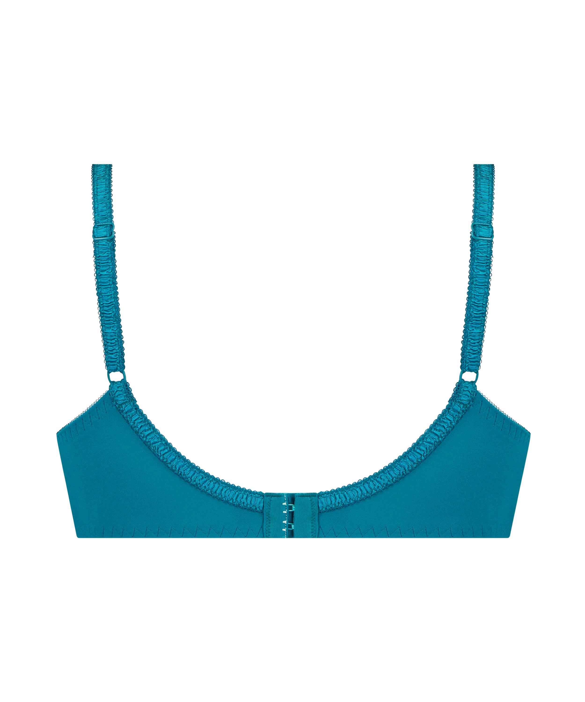 Diva ikke-formstøbt bøjle-bh, blå, main