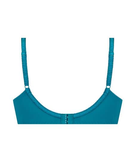 Diva ikke-formstøbt bøjle-bh, blå