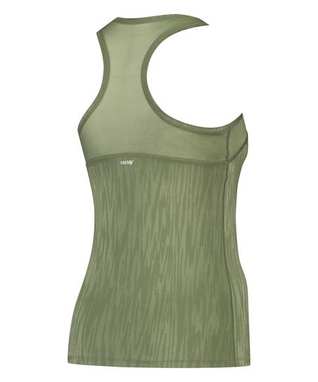 HKMX Sport slim fit tank top, grøn