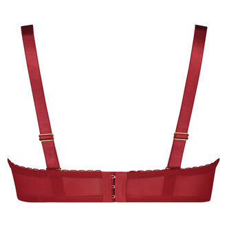 Latrice formstøbt stropløs bøjle-bh, rød