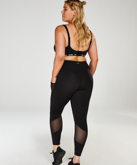HKMX Oh My Squat-leggings med høj talje, sort