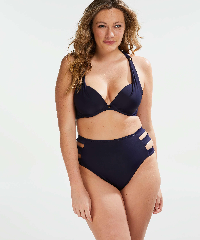 Formstøbt bøjle-bikinitop Sunset Dreams Størrelse E +, blå, main