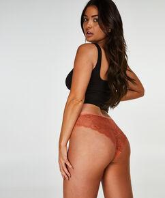 Lace Back usynlig brasiliansk trusse, Brown