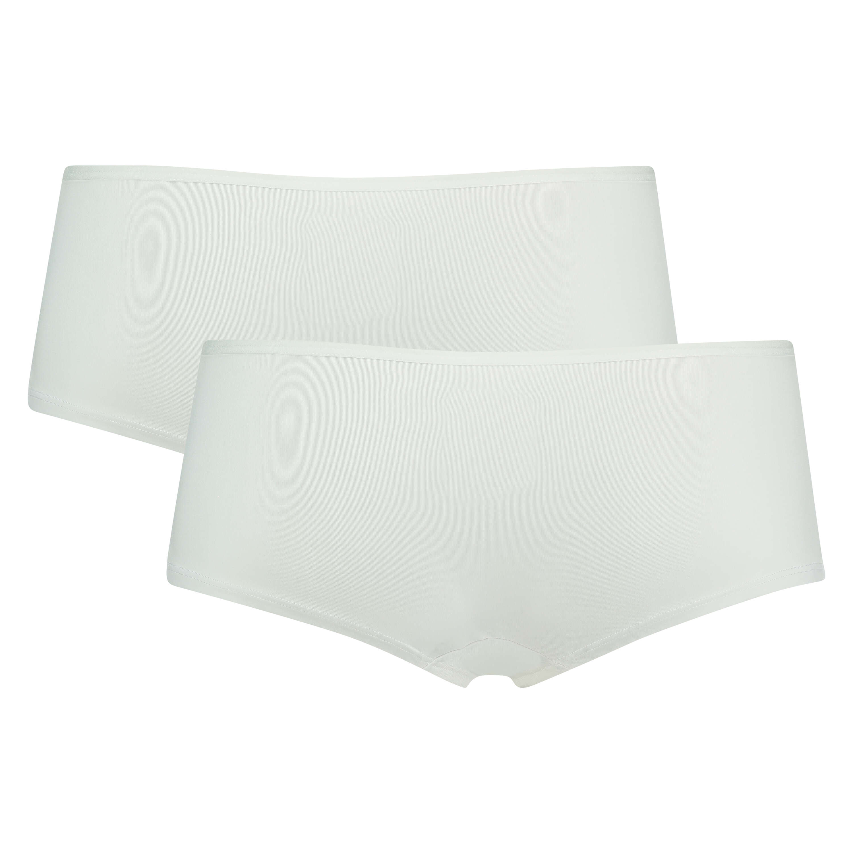 Pakke med 2 stk. Kim boxer Cotton, hvid, main