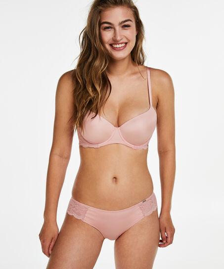 Angie formstøbt bøjle-bh, pink