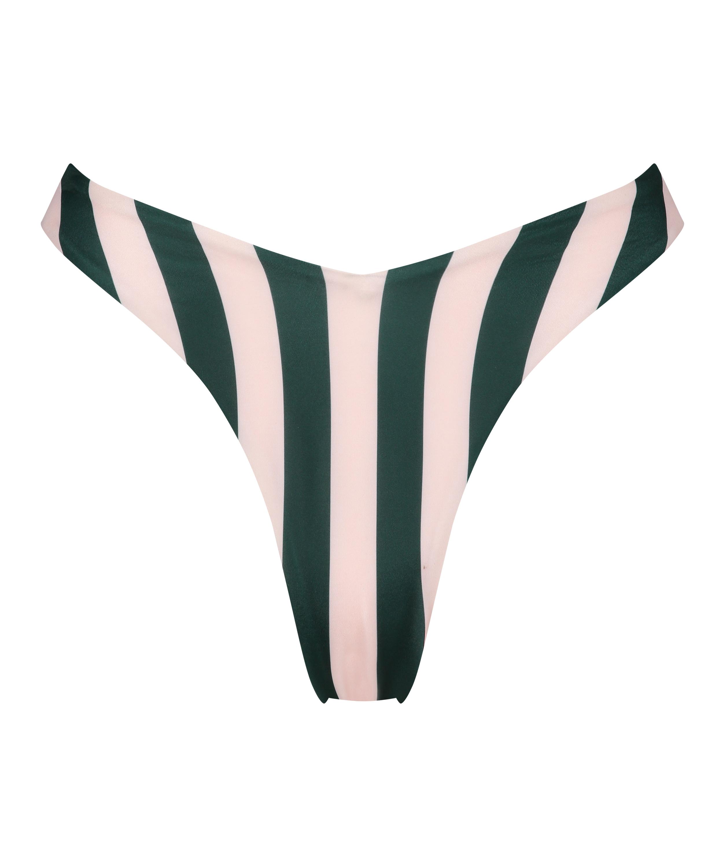 Højskåret bikinitrusse Santa Rosa, grøn, main