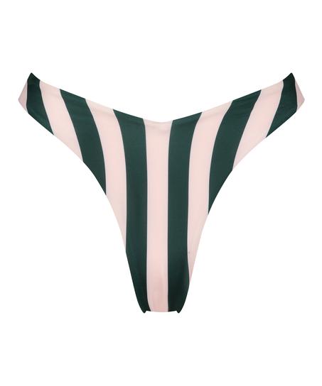 Højskåret bikinitrusse Santa Rosa, grøn