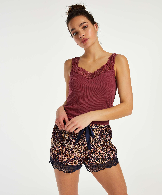 Jersey shorts, Grå, main