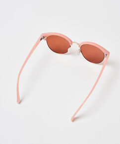 Mirror solbrille, pink