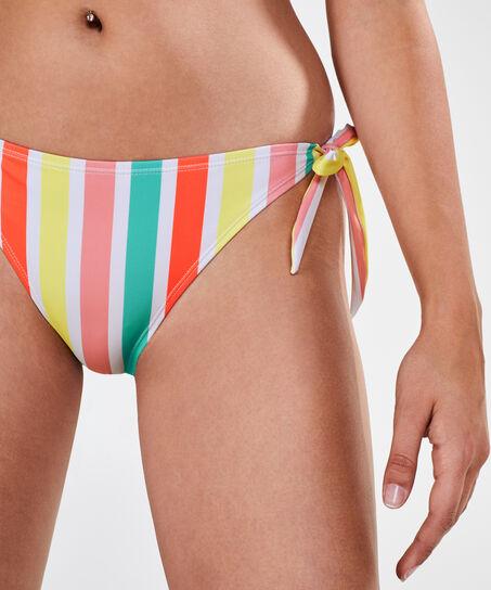 Tropics tanga-bikinitrusse, hvid