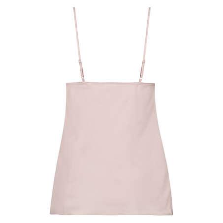 Satin top Bow, pink