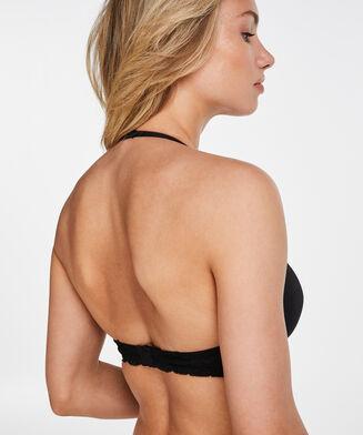 Angie formstøbt pushup-bøjle-bh, sort