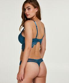 Marilee formstøbt longline bøjle-bh, blå