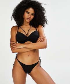Sunset Dream formstøbt bøjle-bikinitop, sort