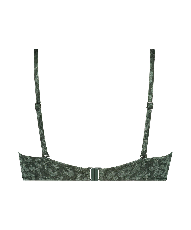 Tonal Leo bikinitop med push-up Størrelse A - E, grøn, main