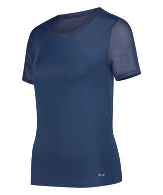 HKMX-sportsshirt med åben ryg, blå