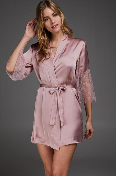Hunkemöller Kimono Satin Lily pink