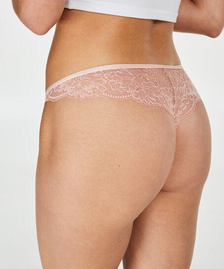 Anya brasiliansk trusse, pink