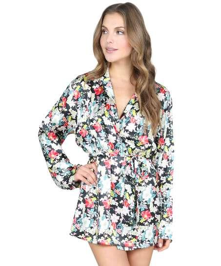 Kimono Tamara, sort