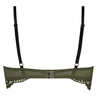 Xiomara formstøbt longline bøjle-bh, grøn