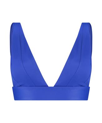 Triangle-bikinitop Luxe, blå