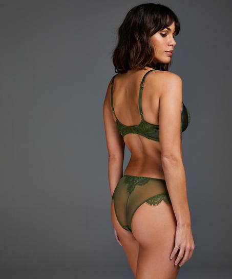 Formstøbt bøjle-bh Hannako, grøn