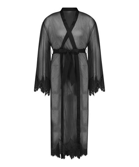 Kimono Long Cravache, sort