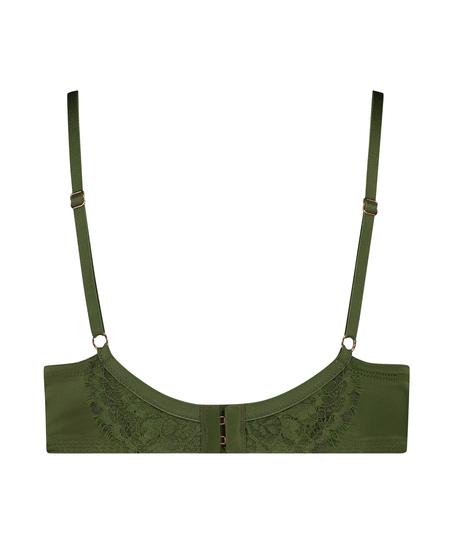 Ikke-formstøbt bøjle-bh Hannako, grøn