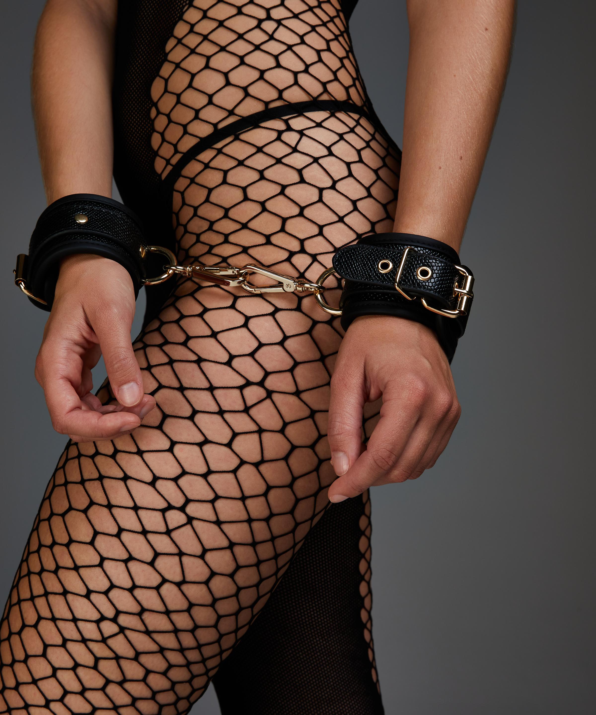Håndjern Snake , sort, main