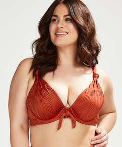 Bikinitop med formstøbte bøjler Galibi I AM Danielle Størrelse E +, Orange
